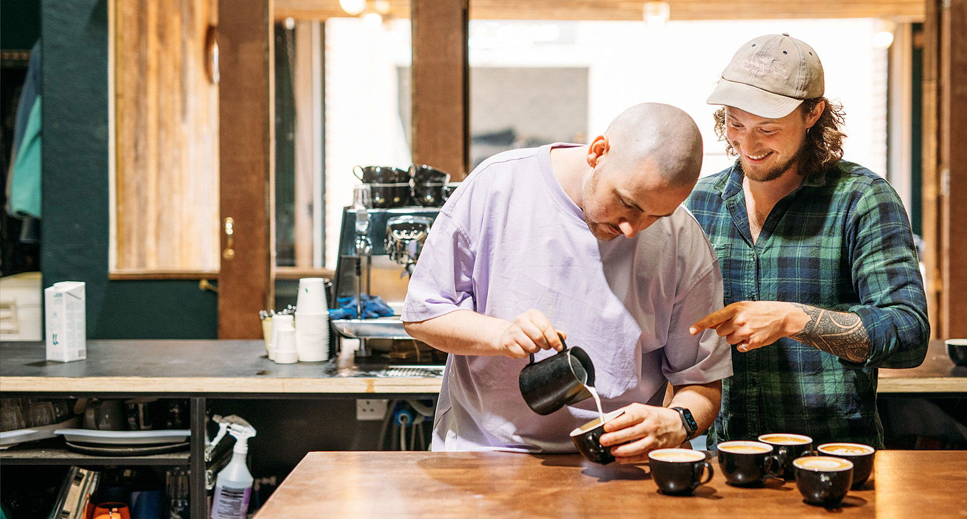 Be a barista for a day