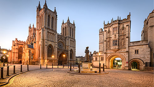 Exterior of Bristol Cathedral