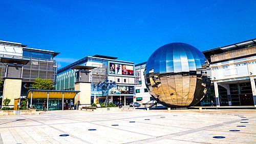 The Planetarium seen from Millennium Square Bristol