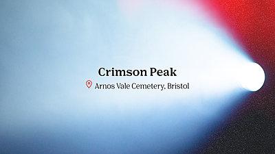 Crimson Peak movie title