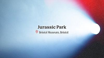 Jurassic Park movie title
