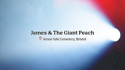James & The Giant Peach movie title