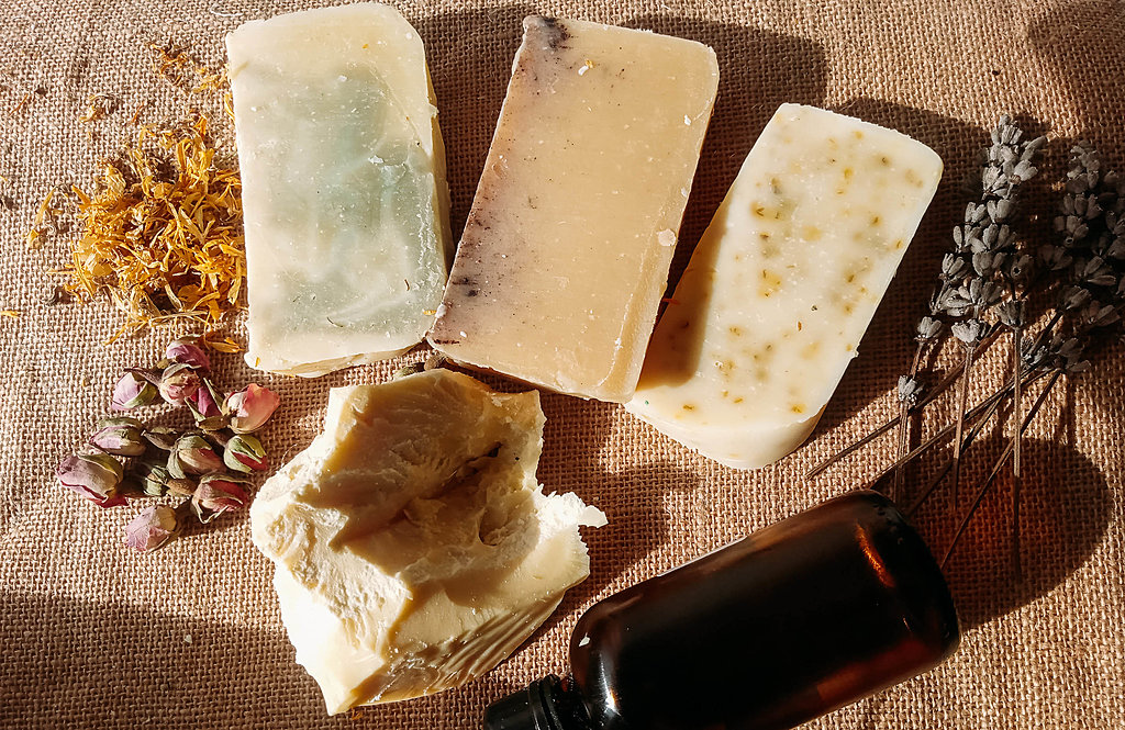 Create your own natural soaps