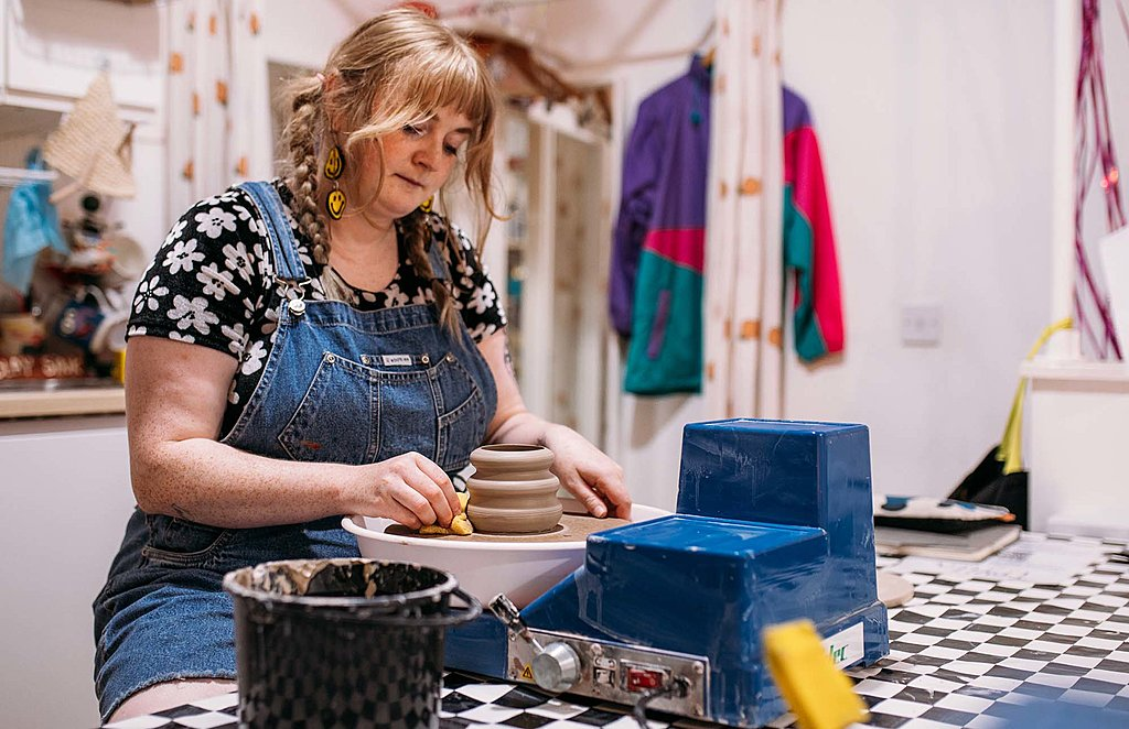 Private Bristol pottery experience for two