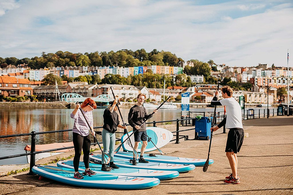 Stand up paddleboarding taster