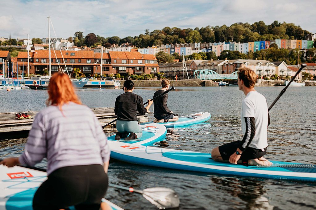 Stand up paddlebaording taster with SUP Bristol