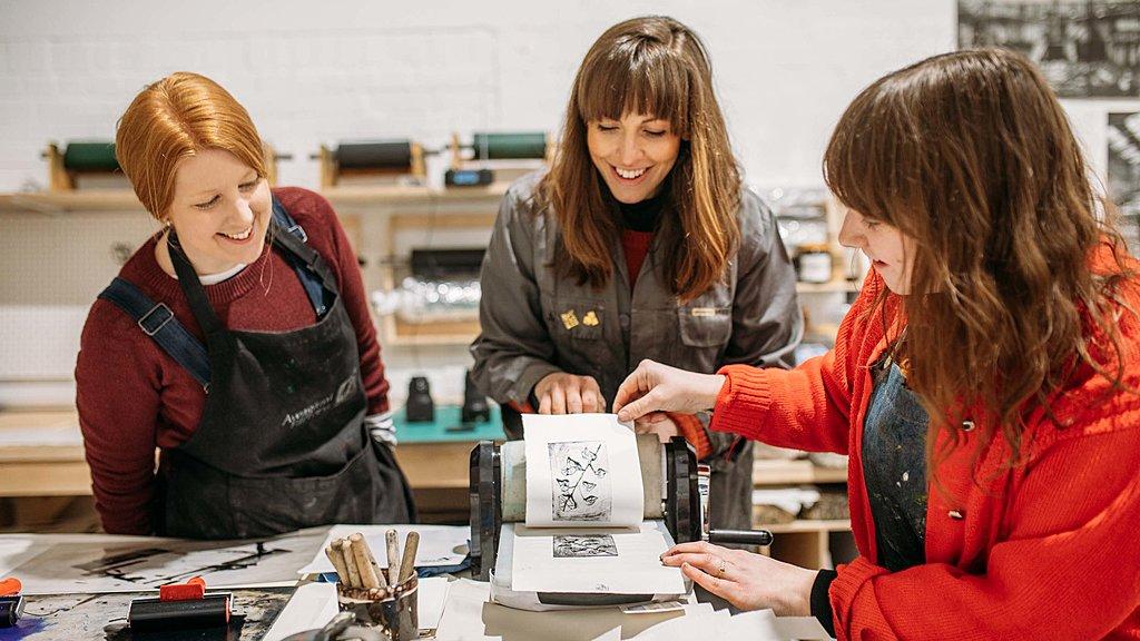 Pop-up printmaking workshop