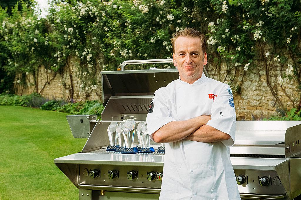 Celebrity chef barbecue