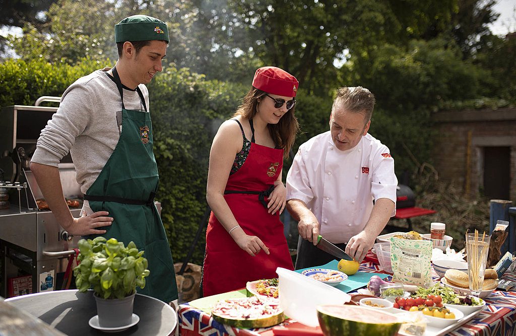 Celebrity chef barbecue with BBQ Ben