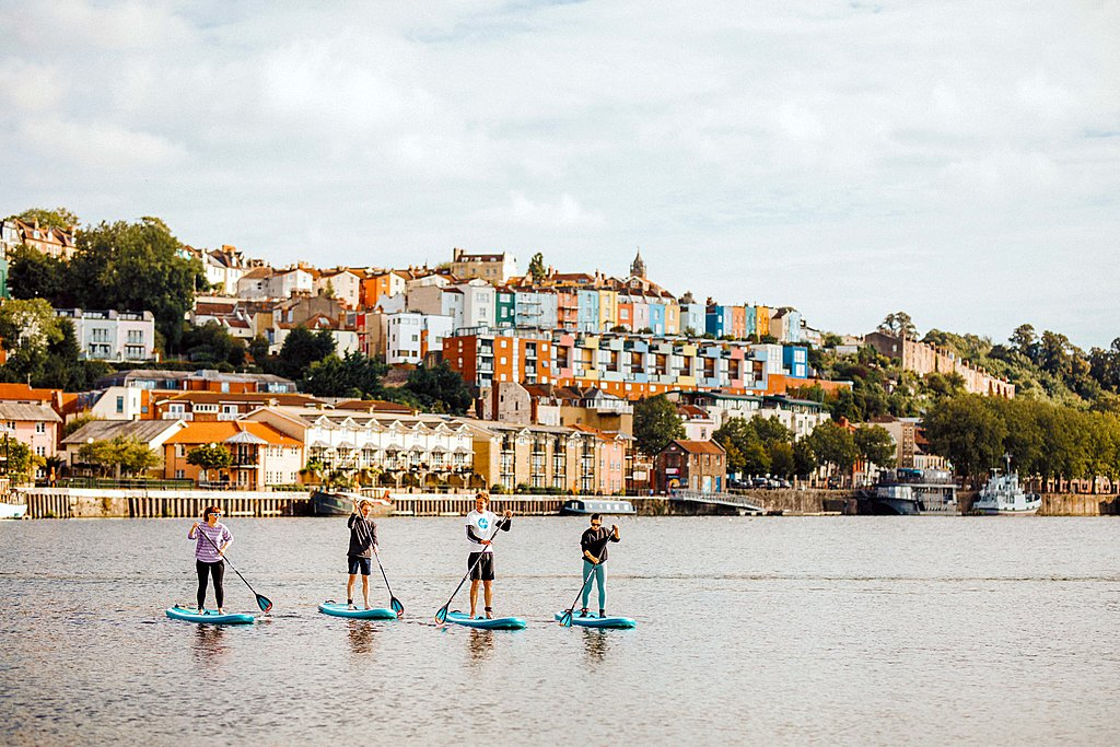 Paddleboarding with SUP Bristol