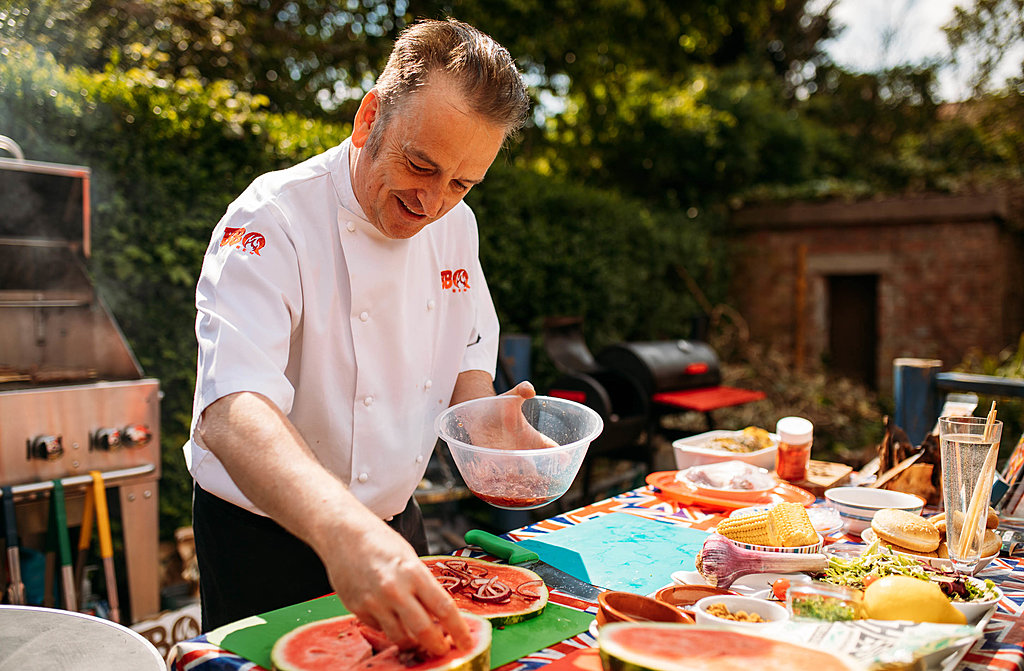 Celebrity chef barbecue for Father's Day