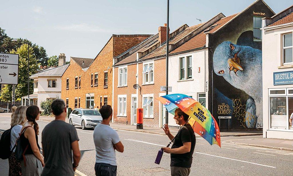 Upfest art walk Bristol