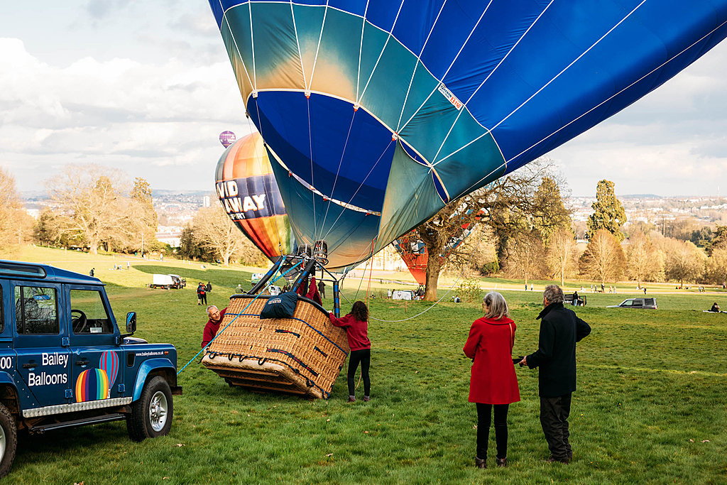 Bailey Balloons - balloon flight over Bristol