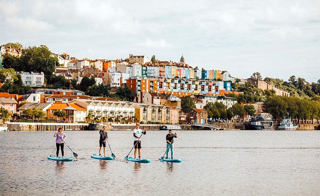 Go paddleboarding