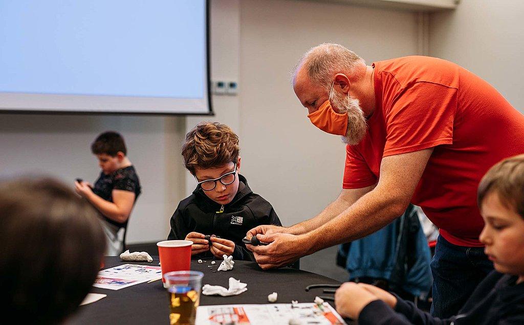 Model making workshop with Aardman