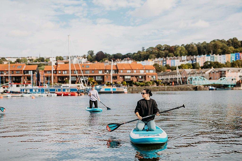 SUP Bristol paddleboarding