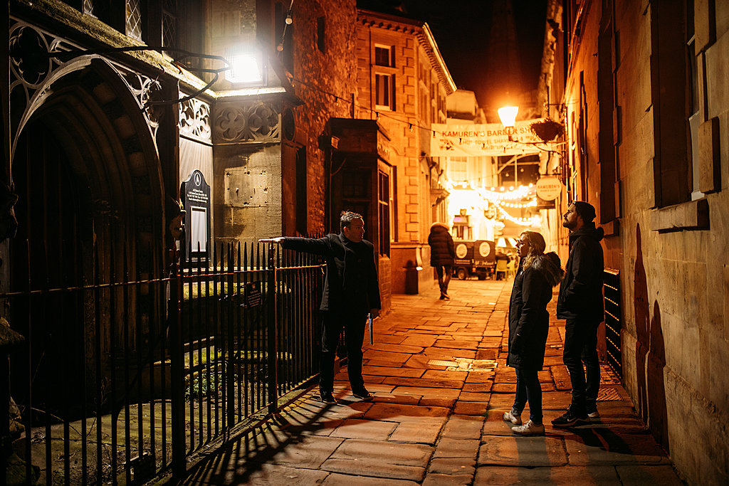 Haunted and hidden walk in Bristol