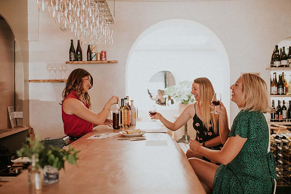 Kask wine tasting