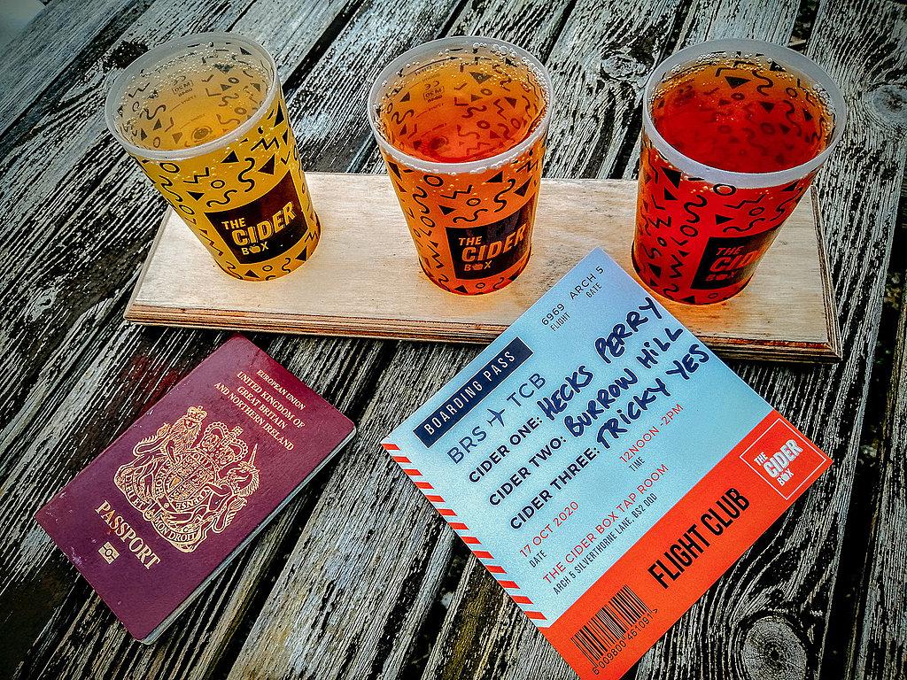 Cider tasting tour in Bristol