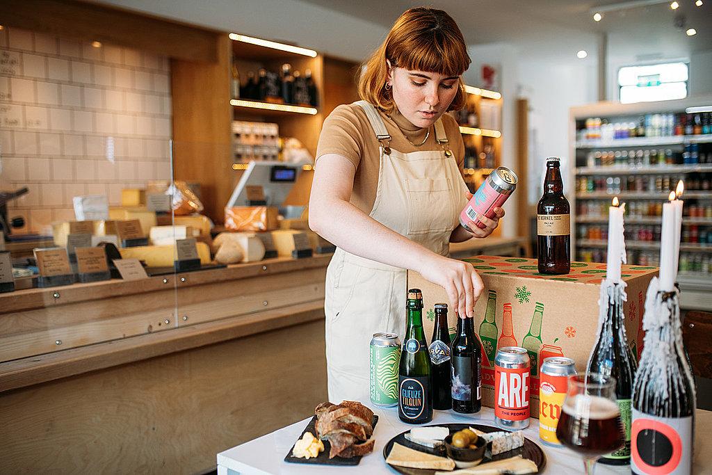 Artisan beer and cheese Bristol food hampers