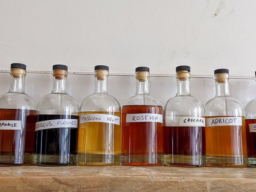 Unusual gin flavours in Bristol