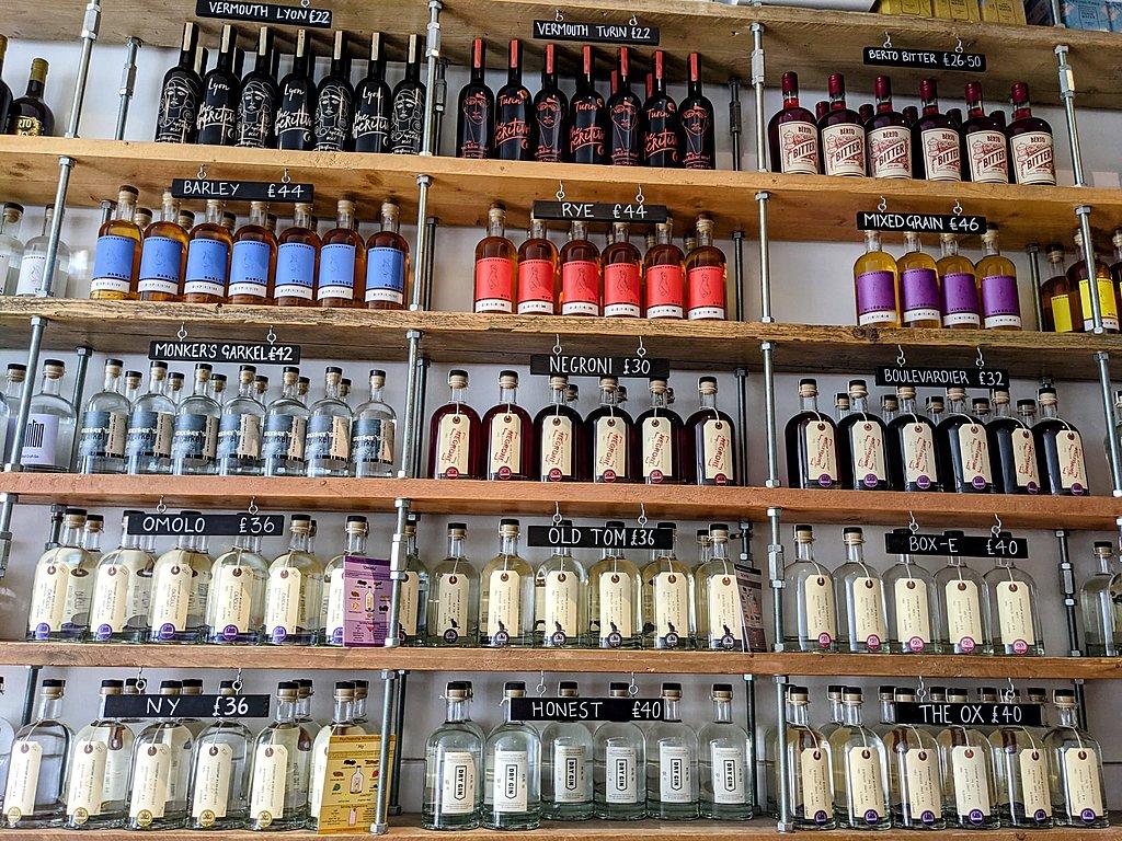 Local liquor and spirits in Bristol