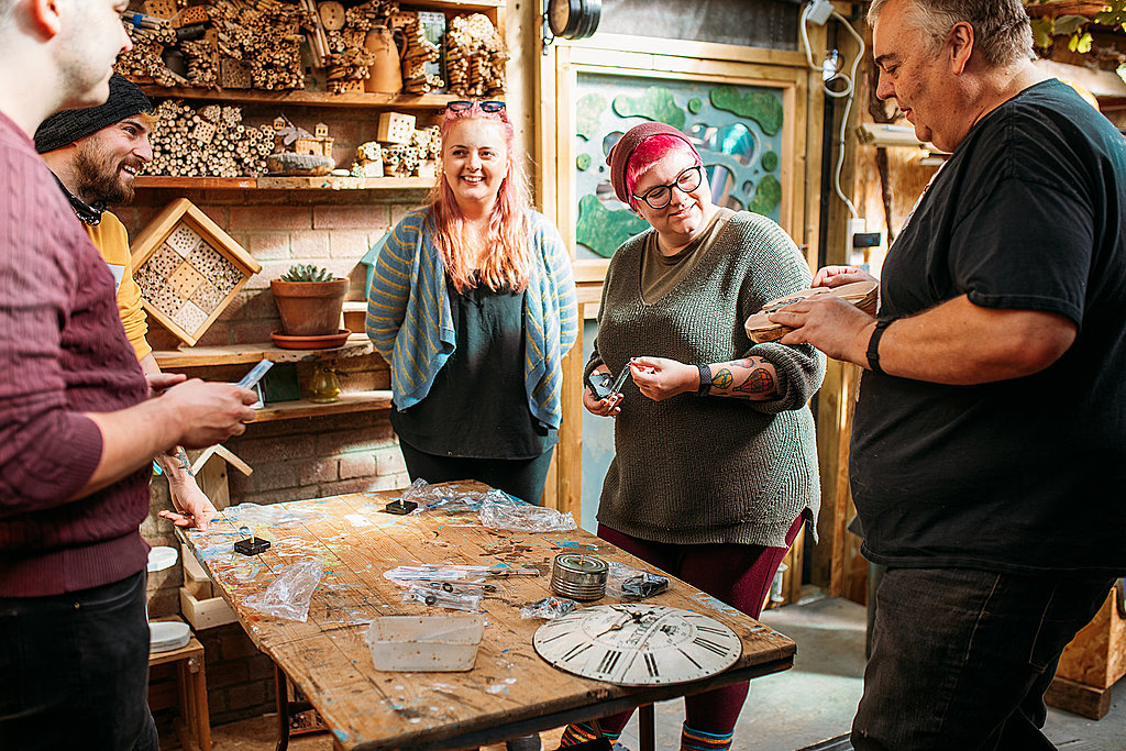 Woodwork and upcycling workshop in Bristol