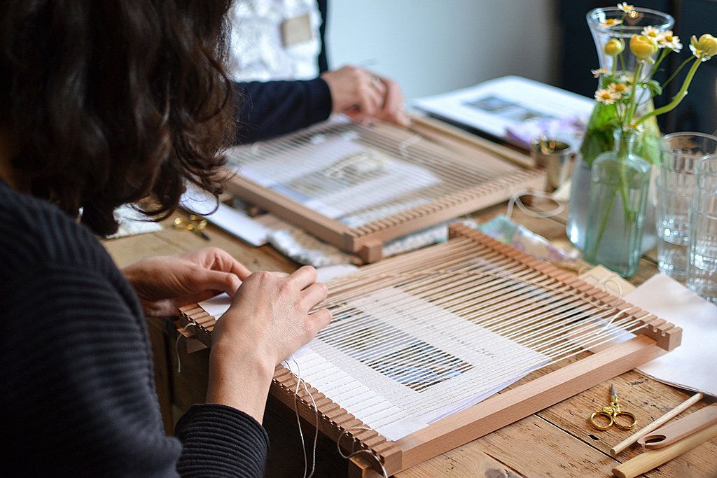 Weaving lessons, craft, and nature art in Bristol